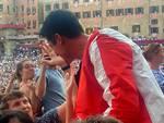 La Giraffa vince il Palio di Siena 2 luglio 2019