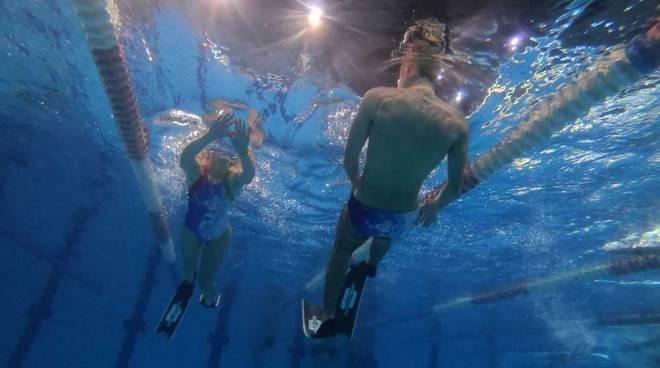 Nuotatori del Carroccio progetto apnea