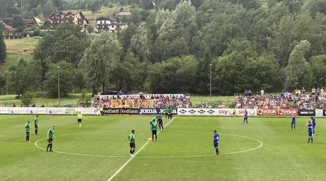 Pro Patria - Sampdoria a Sondalo