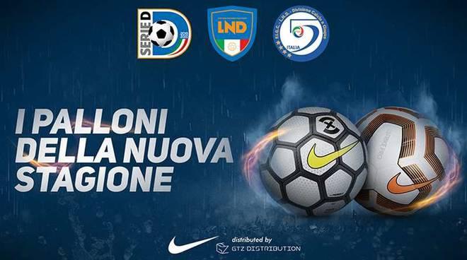 Sarà Nike il nuovo pallone della Serie D