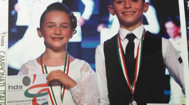 Sofia Ceriani e Simone Palumbo Campioni Italiani 2019 Danze Standard