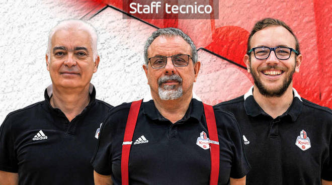 Staff tecnico Knights Legnano