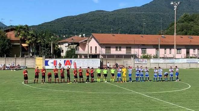 Calcio amichevole Verbano-Pro Patria