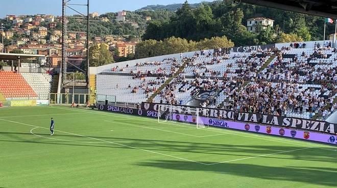 Calcio Coppa Italia Spezia - Pro Patria 5-0