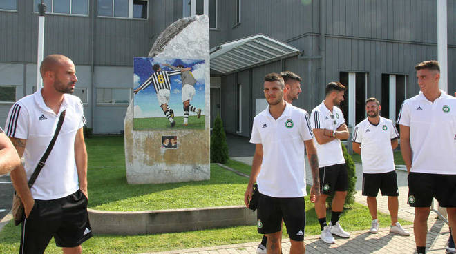 Castellanzese allo Juventus Training Center di Vinovo