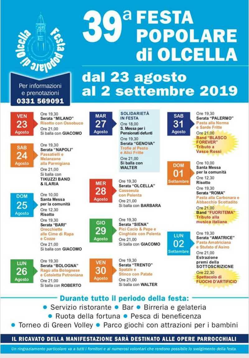 Festa dell'Olcella 2019
