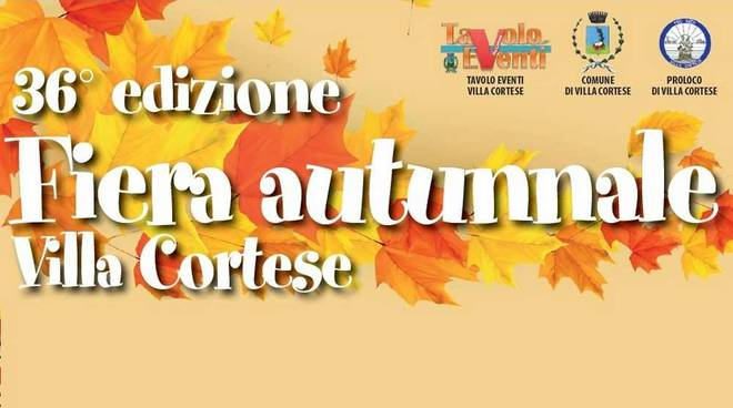 Fiera Autunnale Villa Cortese 2019