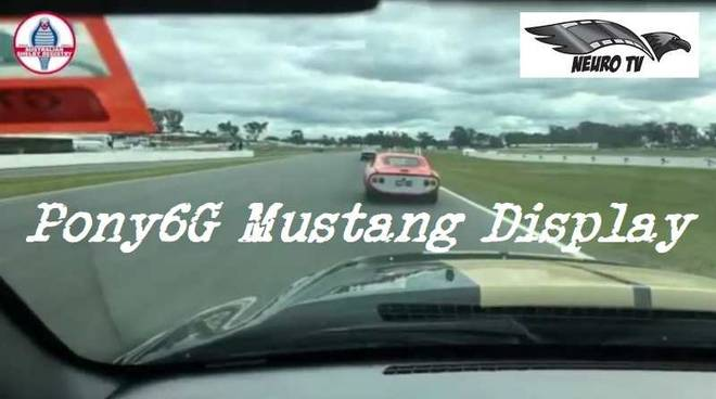 Neuro Tv Pony6G Mustang Display Winton Raceway