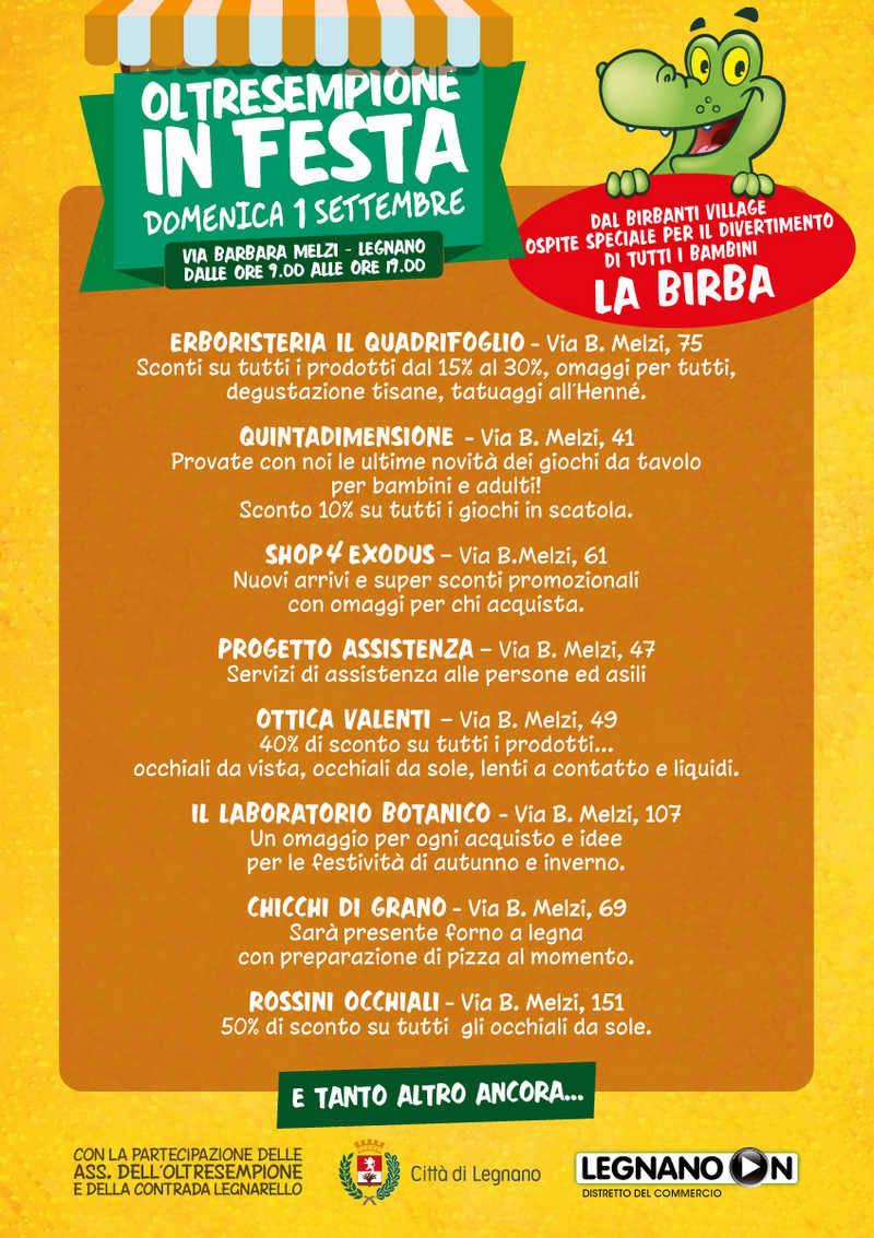 Oltresempione in festa Legnano 2019