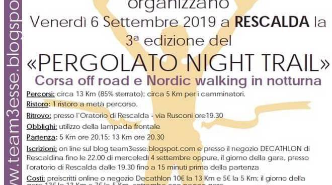 Pergolato Night Trail