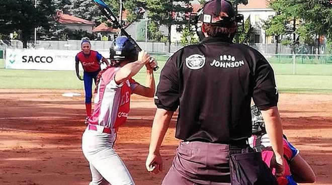 Softball Serie A2 playoff semifinali gare 1 e 2 Legnano-Sestese
