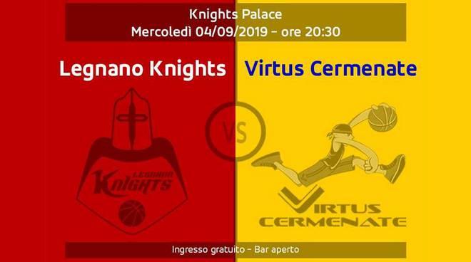 Amichevole Knights Legnano-Virtus Cermenate