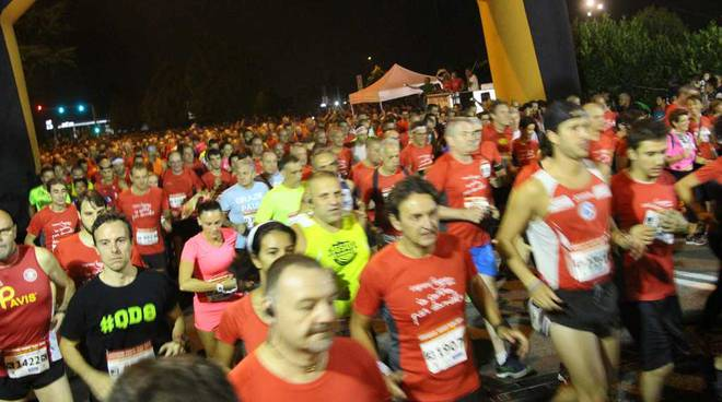 Legnano Night Run la partenza