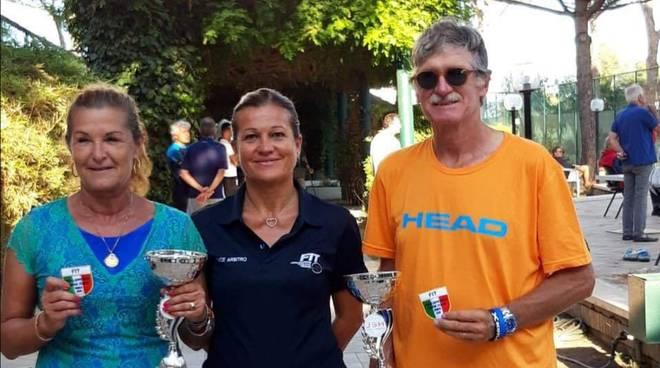 Marco Dedè Campione Italiano Master di Tennis