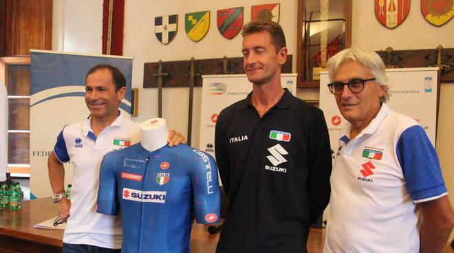 Nuova Maglia Azzuri ciclismo Mondiali 2019
