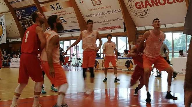 Sangiorgese-Knights Legnano 66-56 Memorial Tarcisio Vaghi