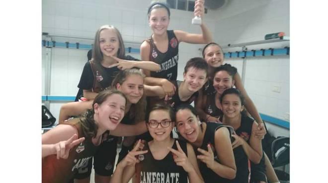 Bulldog Basket Canegrate Under 14 femminile vince il Torneo di Villaguardia