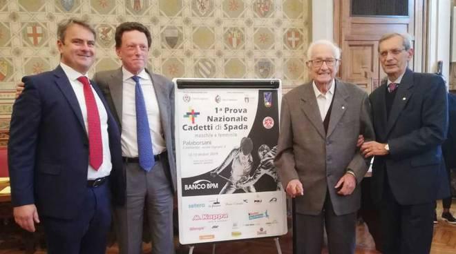Club Scherma Legnano presentazione Trofeo Cadetti Spada