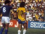 Gentile Zico maglia strappata Italia-Brasile Mondiale 1982