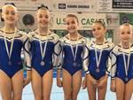 Ginnastica Perseverant Legnano squadra Allieve Serie C Gold