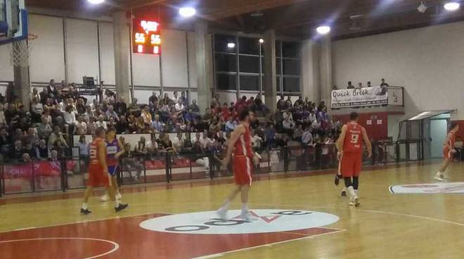 Knights Legnano-Rovello Basket 62-74