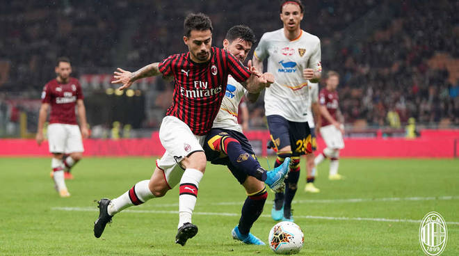 Milan-Lecce 2-2