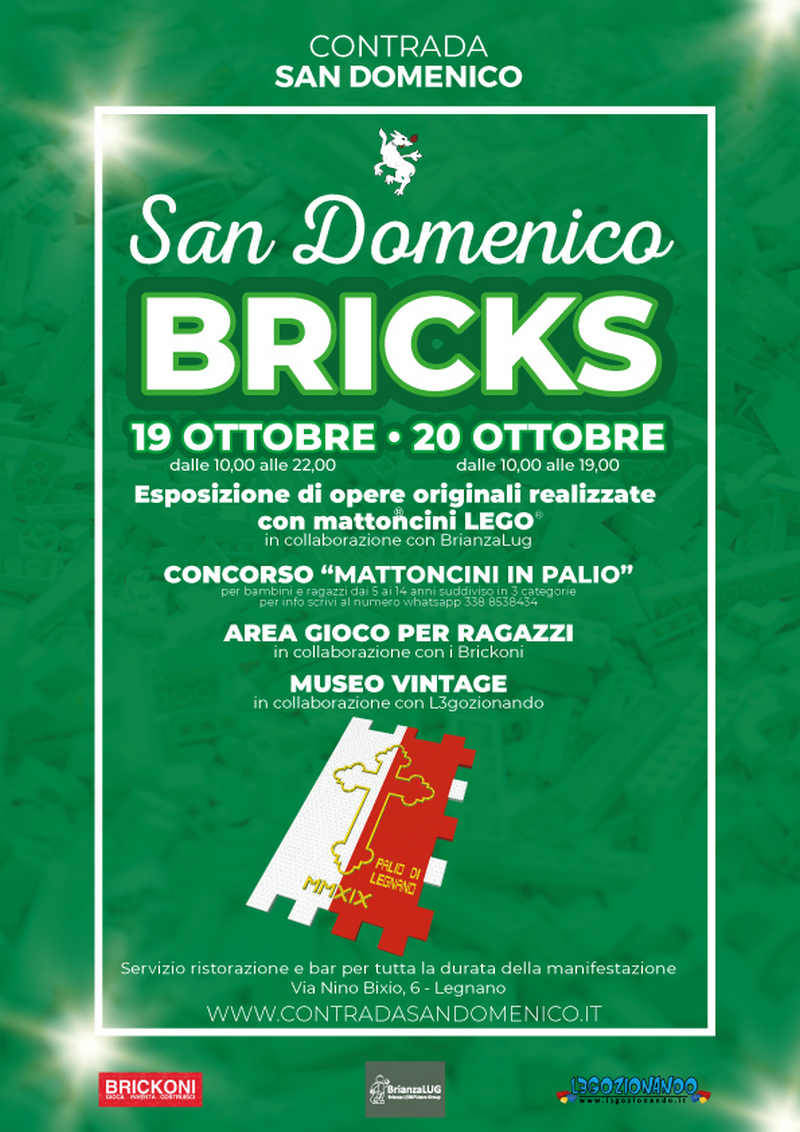San Domenico Bricks Contrada San Domenico Legnano Lego