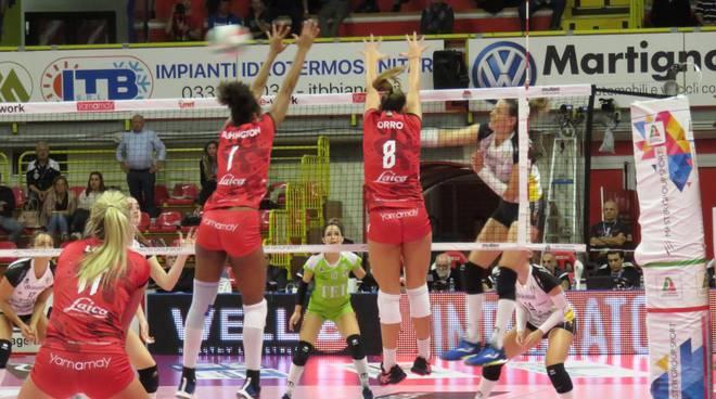 Uyba-Brescia 3-1