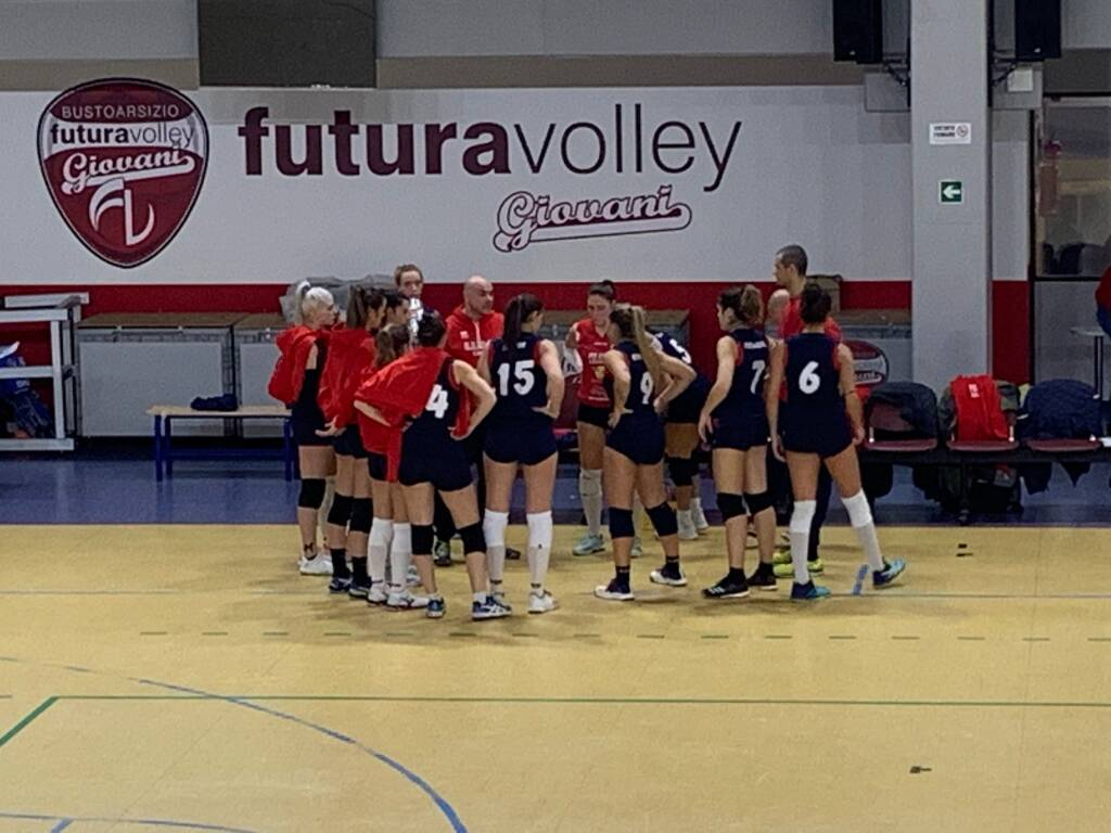 Futura Volley Giovani-GS FoCoL Volley Legnano 0-3