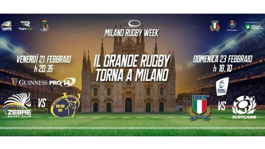 Il 6 Nazioni Femminile di Rugby a Legnano