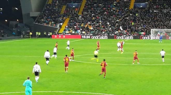 Udinese-Roma 0-4