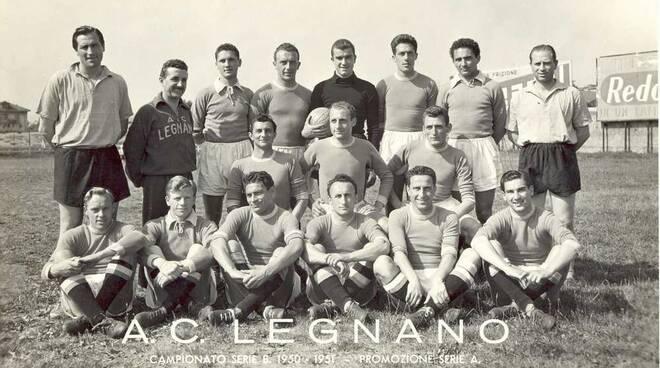 A.C. Legnano 1950/51 Promozione in Serie A