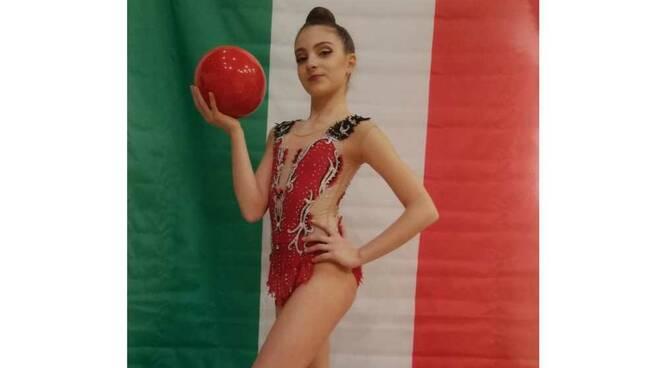 Chiara Piazzese Ginnastica Moderna Legnano