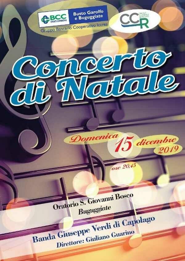 Concerto di Natale BCC Busto Garolfo e Buguggiate