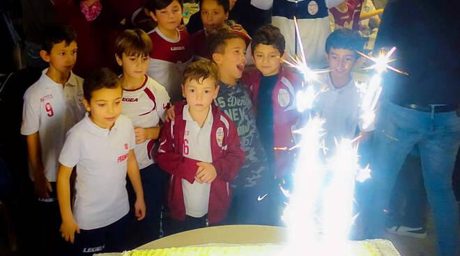 FC Parabiago Festa di Natale Ristorante Tourlé
