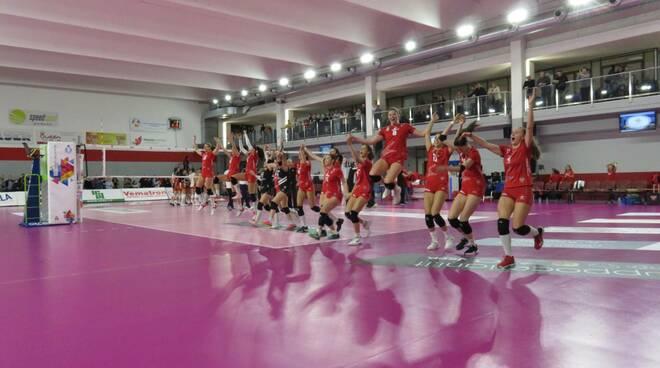 Futura Volley Giovani-Acqua&Sapone Roma 3-0