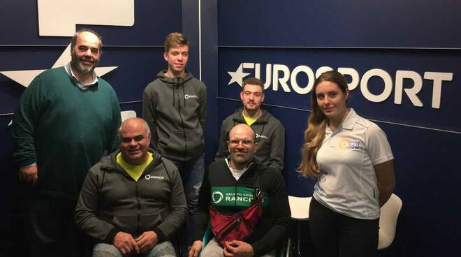 GS Rancilio in visita a Eurosport