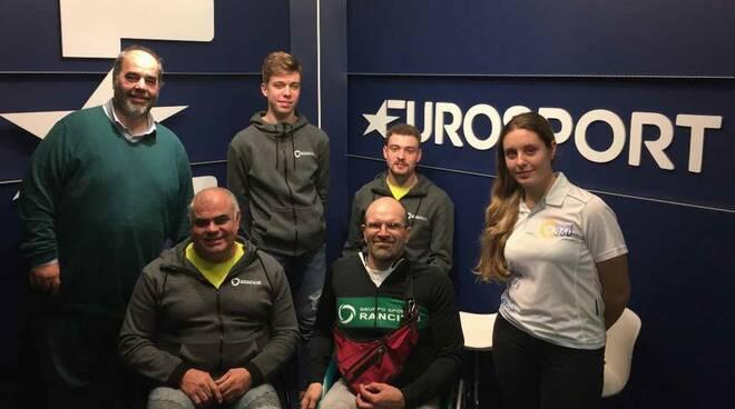 GS Rancilio in visita a Eurosport
