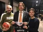Il presidente dei Knights Legnano Marco Tajana ospite di Bart Stadio
