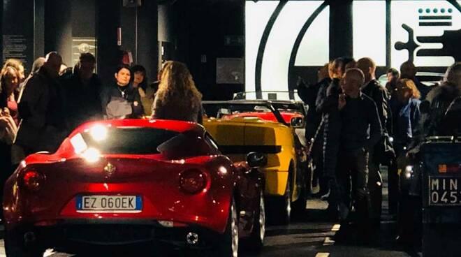 Museo Fratelli Cozzi GTV e Spider più Alfa che mai Massimo e Giuseppe Colombo