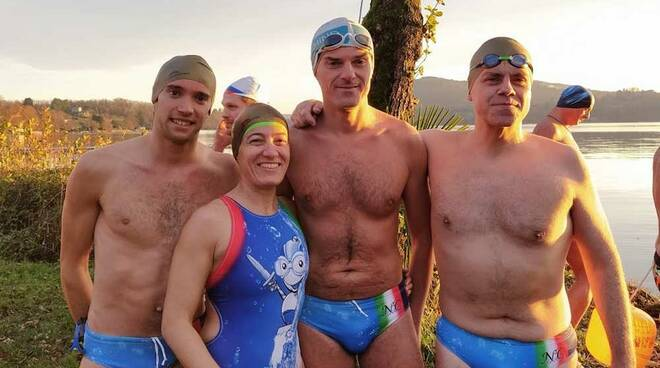 Nuotatori del Carroccio Ice Swimming
