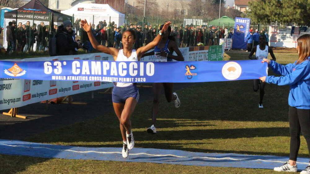 Gloriah Kite Vincitrice 63° Campaccio 2020 World Athletics Cross Country Permit 2020 Gara femminile