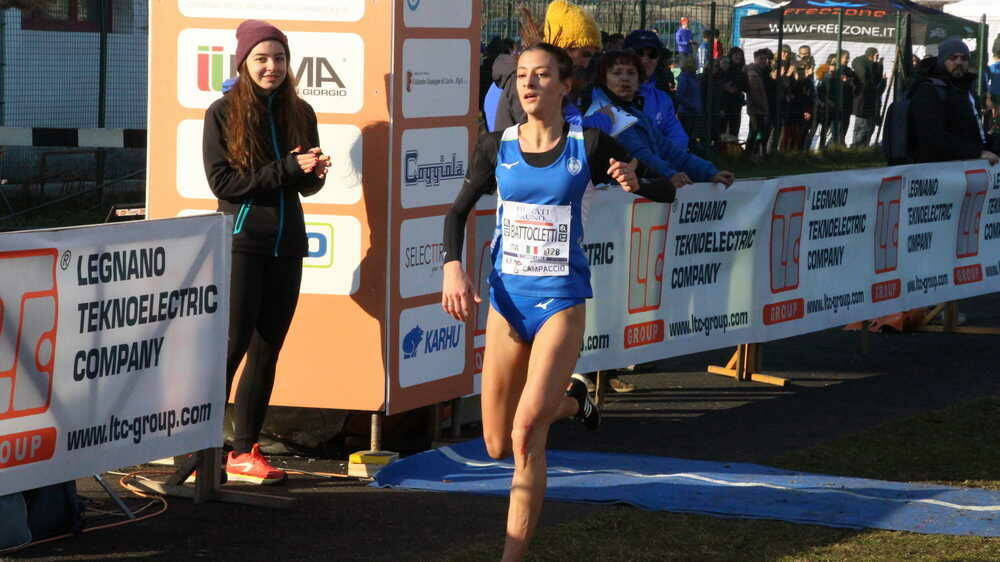 Nadia Battocletti 63° Campaccio 2020 World Athletics Cross Country Permit 2020 Gara femminile