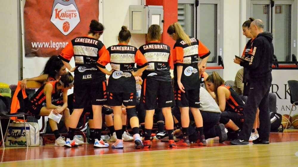 Bonetti Canegrate-Basket Villasanta 56-64