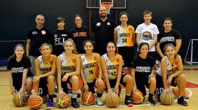 Bulldog Basket Canegrate Under 14 UISP femminile