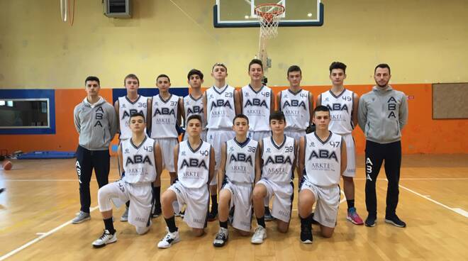 L'Under 15 ABA conquista il torneo  IN TO ROME