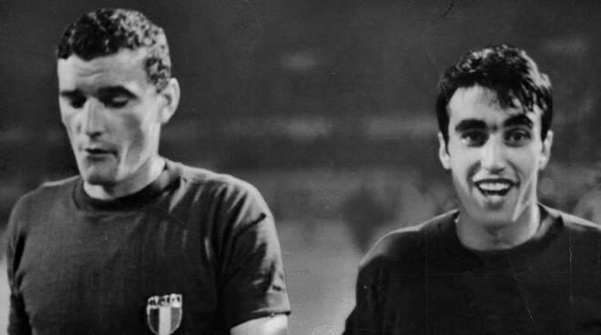 Gigi Riva e Pietro Anastasi Campionato Europeo 1968