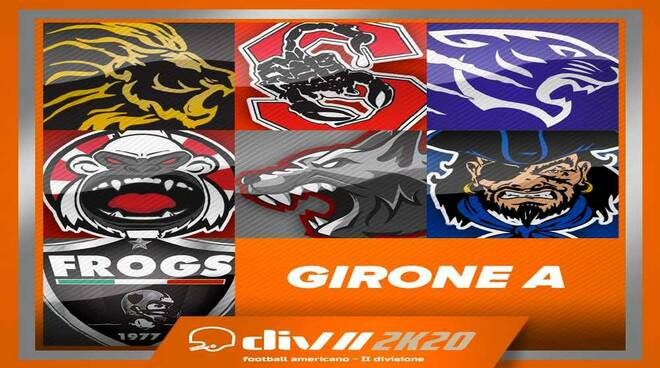 Girone A Seconda Divisione Football Americano
