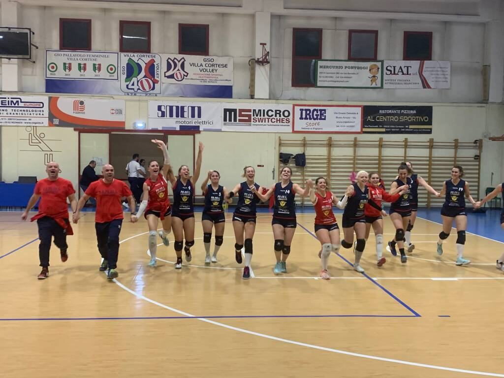 GSO Villa Cortese-GS FoCoL Volley Legnano 0-3