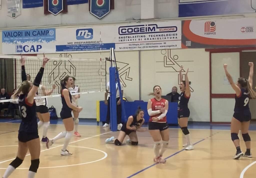 GSO Villa Cortese-GS FoCoL Volley Legnano 0-3